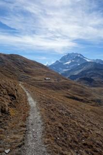 Trail zum Bistinepass