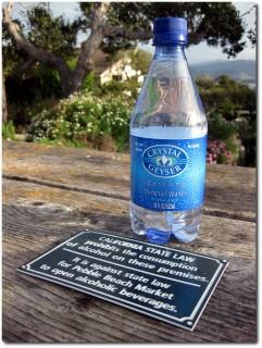 Nur Wasser, reines Wasser