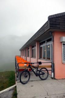 Nufenenpass - kein Bikewetter