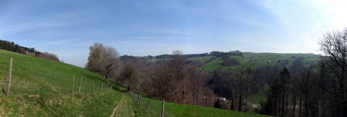 Panorama ob dem Lindental - Bantigerseite
