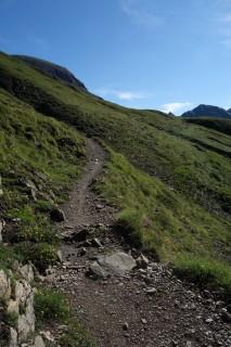 Trails zum Saflischpass bei Oflini
