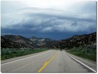 On the Road - Regen und Motorräder