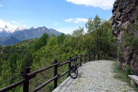 Suonenbiken im Val d'Aosta