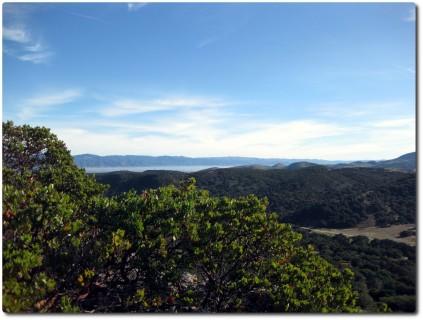 Blick von Fort Ord auf das Salinas Valley