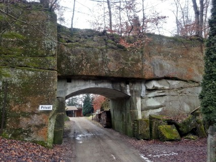Steinbruch Ostermundigen - Brücke