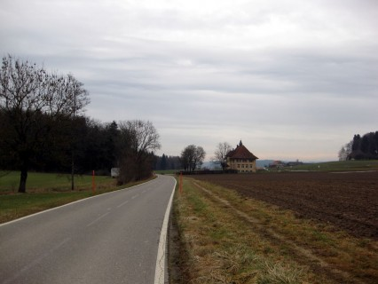 Ottiswil in Richtung Limpachtal