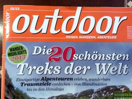 Outdoor Magazin - Titel