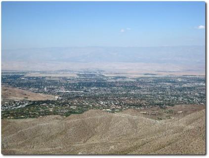 Blick auf Palm Springs