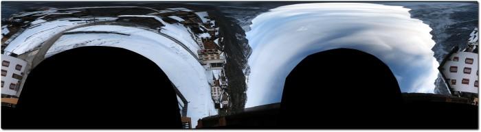 Autostitch Panoramafoto mit falscher Orientierung