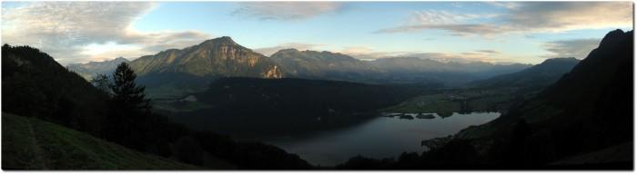 Panorama oberhalb Alpnachersee