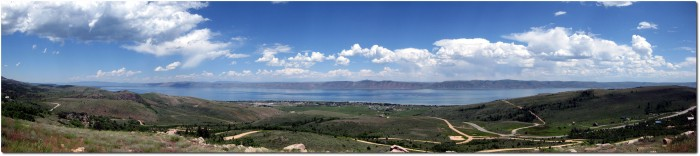 Panorama Bear Lake