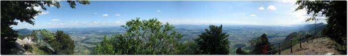 Balmfluechöpfli - Panoramablick in Richtung Mittelland