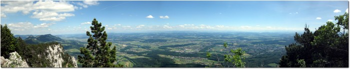 Balmfluechöpfli - Panoramablick ins Mittelland und nach Hause