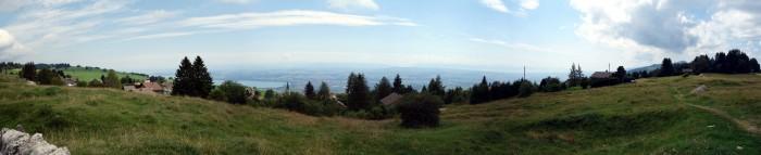 Panorama oberhalb Bullet