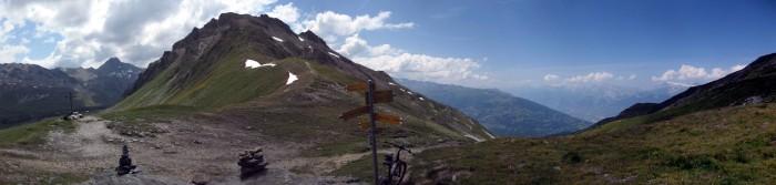 Panorama Col de Cou
