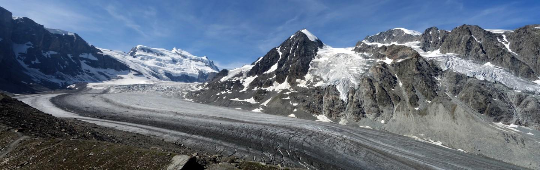 Panorama Glacier de Corbassière