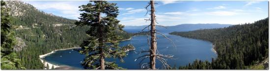 Lake Tahoe - Panorama Emerald Bay