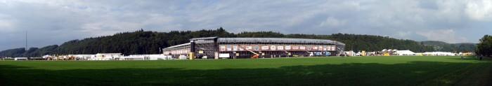 Panorama Festgelände ESAF 2013