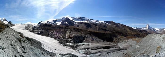 Panorama Findelgletscher