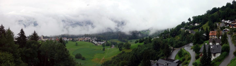 Panorama Ferienwohnung Laax Grau