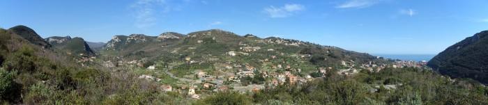 Panorama beim Castello San Giovanni