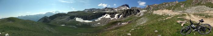 Panorama oberhalb Bendolla
