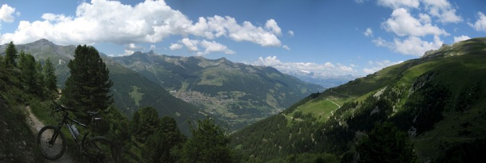 Panorama - Val d'Anniviers