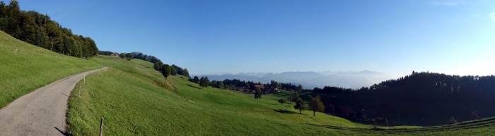 Panorama Hinterer Albis