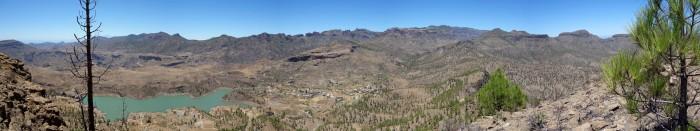 Panorama vom Morro de la Hierba Huerto