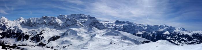 Panorama vom Laveygrat