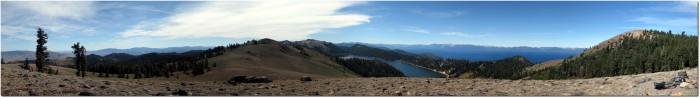 Tahoe Rim Trail - Panorama Lake Tahoe und Marlette Lake