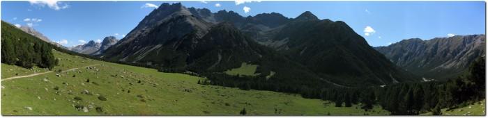 Panorama Val Mora