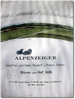 Nanocache beim Alpenzeiger ob Büren zum Hof