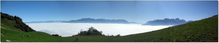 Panoramablick von der Obetweid