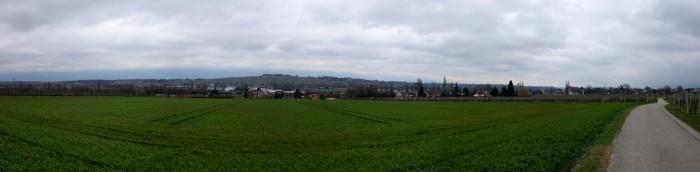 Panorama bei Perly - Singal de Bernex