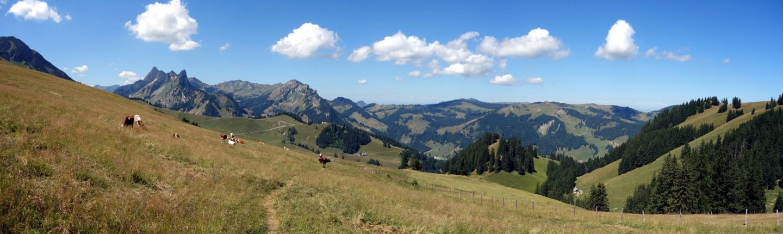 Panorama oberhalb des Schwarzsees