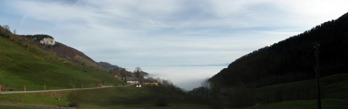 Wieder mal auf dem Stierenberg mit Nebelmeer
