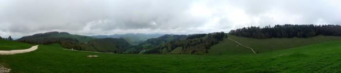 Panorama - Matzendörfer Stierenberg