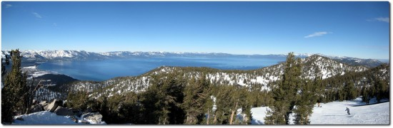 Panorama Lake Tahoe - Januar 2009