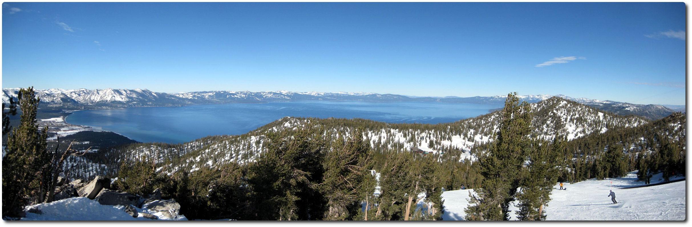 Panorama Lake Tahoe - Januar 2009