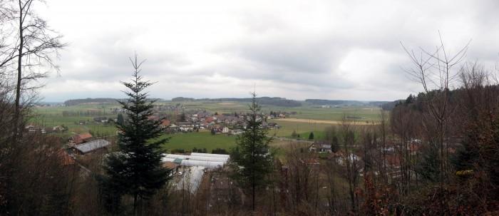 Panorama ob Thörigen