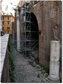 Pantheon tiefergelegt