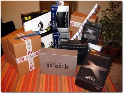 So viele Kisten..., so viele Schrauben...