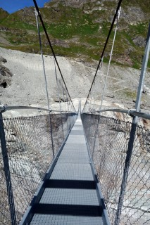 Corbassière Hängebrücke