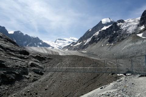 Blick Gletscheraufwärts