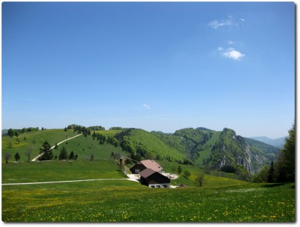 Lohn des Aufstiegs - Blick vom Malsenberg