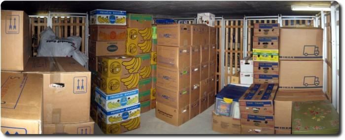 Kisten und mehr Kisten !
