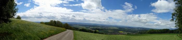 Blick ins windige Mittelland