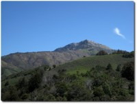 Pico Blanco - heiliger Berg