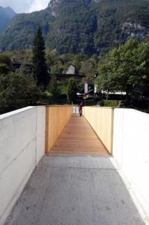 Neue Brücke bei Piee